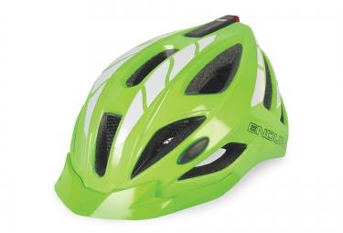 endura casque visibilite rechargeable usb luminite vert