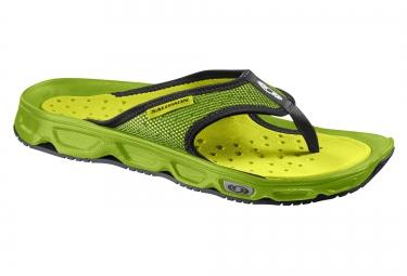 salomon chaussures de recuperation rx break vert