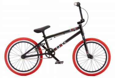 radio bikes 2016 bmx complet dice 18 noir