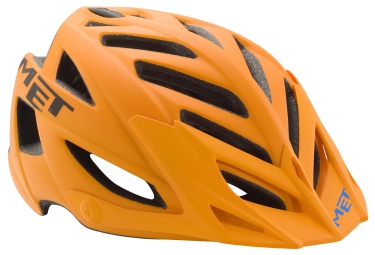 casque met terra orange noir