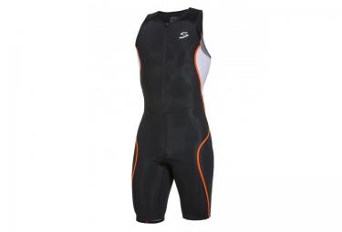 spiuk 2016 combinaison universelle triathlon noir orange