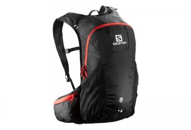 salomon sac trail 20l noir rouge