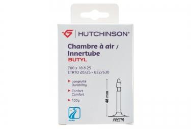 hutchinson chambre a air route butyl 700x18 25 valve presta