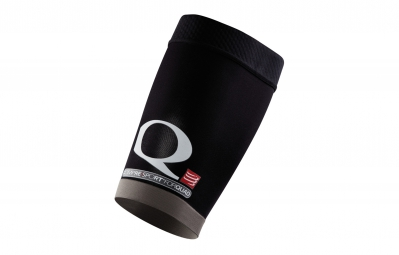compressport paire de manchons cuisse 4quad multisport noir