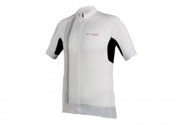 maillot manches courtes endura fs260 pro sl ii blanc