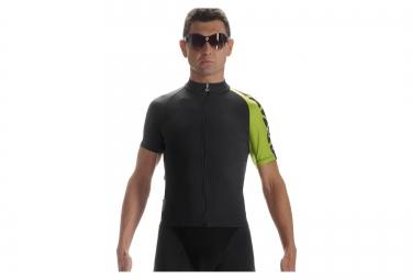assos maillot campanissimo mille jersey evo7 noir vert