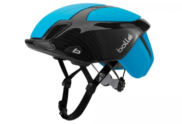 casque bolle the one road premium 2016 bleu carbon