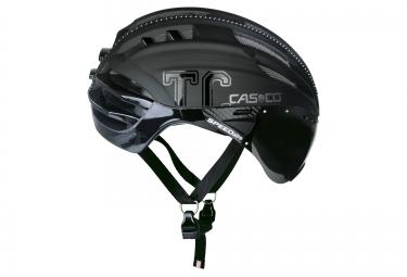 casque aero casco speedairo plus avec visiere noir mat