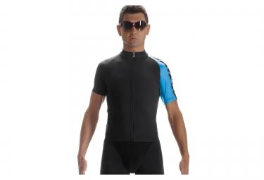 assos maillot campanissimo mille jersey evo7 noir bleu blanc