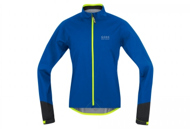 gore bike wear veste power gore tex active bleu noir jaune