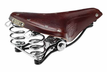 brooks selle b66 marron