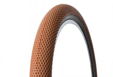 cult pneu vans 20 x 2 35 gum flanc noir damier reflechissant