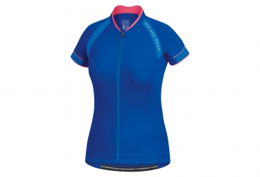 gore bike wear maillot power 3 0 bleu femme