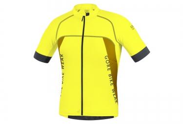 gore bike wear maillot alp x pro jaune