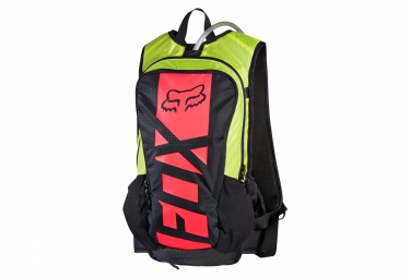 fox sac hydratation small camber race 10l noir jaune rouge