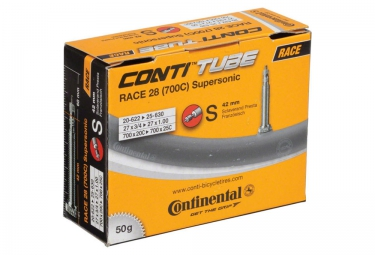 continental chambre a air 700 x 20 25 race supersonic 42 mm