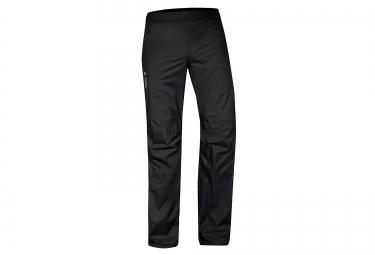 vaude pantalon anti pluie drop ii noir