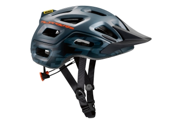 casque all mountain mavic crossride gris orange