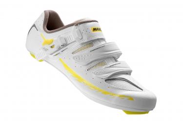 chaussures route femme mavic ksyrium elite ii 2016 blanc