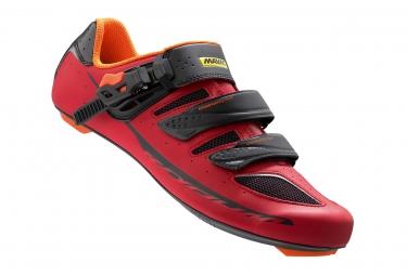 chaussures route mavic ksyrium elite ii 2016 rouge