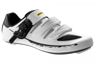 chaussures route mavic ksyrium elite ii maxi fit 2016 blanc