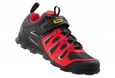 chaussures vtt femme mavic crossride 2016 rouge noir
