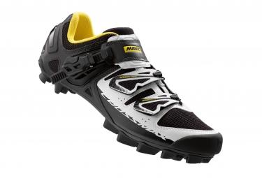 chaussures vtt mavic crossmax sl pro carbon 2016 noir blanc
