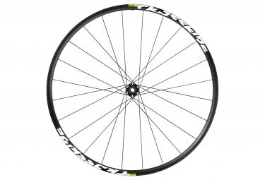 mavic roue avant crossride fts x 27 5 axe 15x100mm 9x100mm