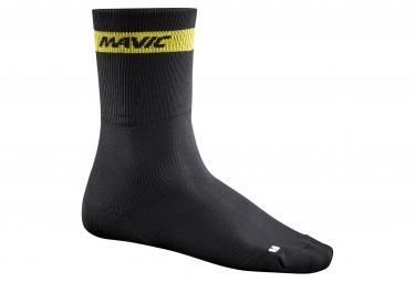 mavic 2016 paire de chaussettes crossmax high noir