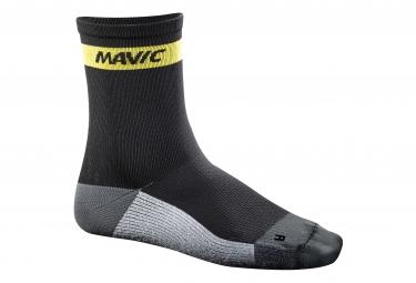 mavic 2016 paire de chaussettes ksyrium carbon noir