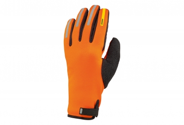 mavic 2016 paire de gants aksium thermo orange