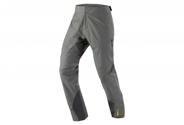 mavic 2016 pantalon impermeable crossmax ultimate h2o gris