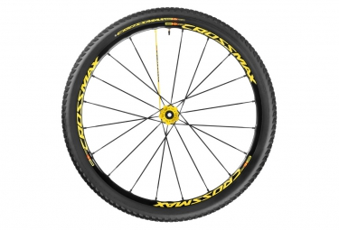 mavic 2016 crossmax sl pro ltd roue arriere 29 6tr 9x135mm pneu crossmax pulse 2 10