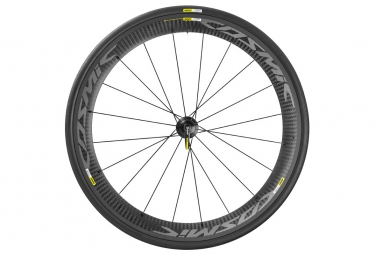 mavic 2016 roue arriere cosmic carbone pro exalith shimano sram pneu yksion pro 23mm