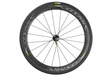 mavic 2016 roue arriere cosmic carbone pro exalith shimano sram pneu yksion pro 25mm