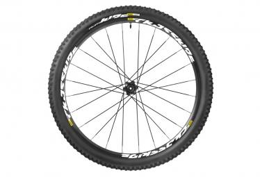 mavic 2016 roue arriere crossride light 27 5 axe 142x12mm corps de roue libre shiman