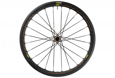 mavic 2016 roue avant ksyrium pro disc allroad centerlock pneu yksion elite