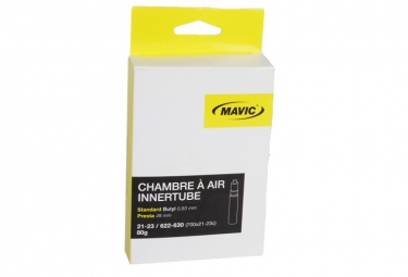 mavic chambre a air 700x21 25c valve presta 60 mm