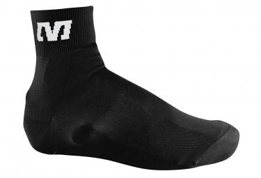mavic couvre chaussures tricote noir