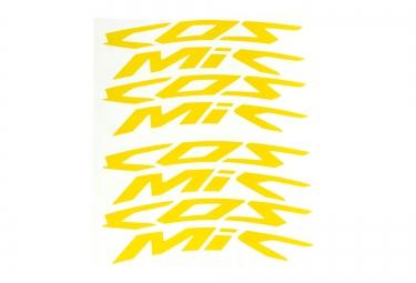 mavic kit autocollant cosmic jaune
