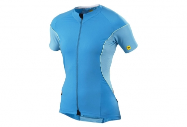 mavic maillot femme cosmic pro bleu