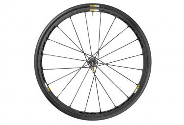 roue arriere mavic ksyrium pro exalith sl noir corps shimano sram pneu yksion pro 25