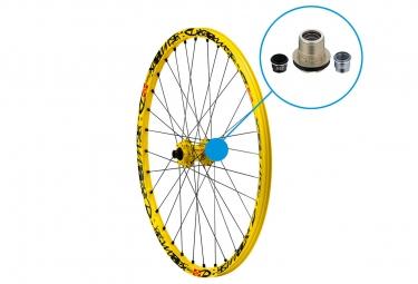 mavic roue arriere deemax ultimate 27 5 jaune 150x12mm 157x12mm corps de roue libre