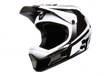 casque fox rampage comp imperial blanc noir