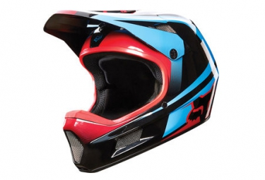 casque fox rampage comp imperial noir bleu