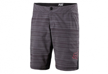 fox short lynx femme heather noir