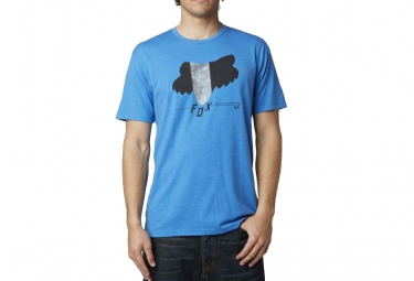fox t shirt dragger bleu