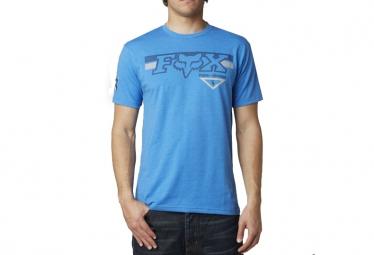 fox t shirt engine eruption bleu