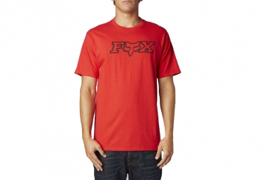 fox t shirt legacy rouge