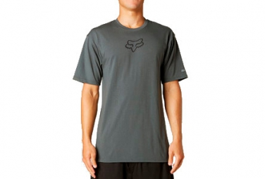 fox tee shirt tournament tech gris